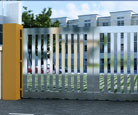 Structural Steel Gates
