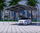 Structural Steel Car Sheds