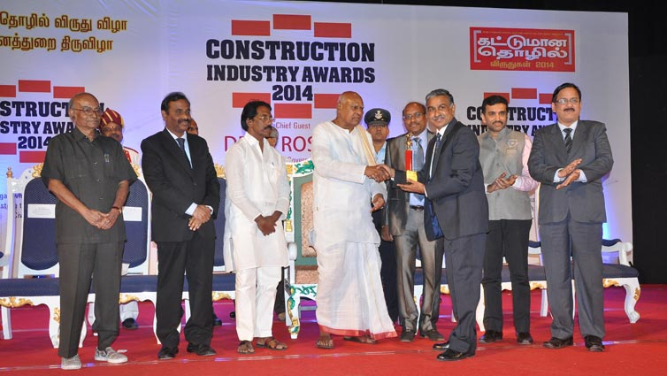 Tata Structura Organised Construction Industry Awards